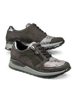 Waldläufer Bequem-Sneaker Grau Detail 1