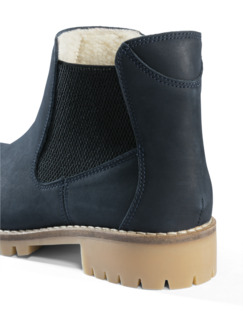 Chelsea-Boot Blau Detail 4