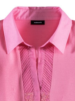 Jersey-Bluse Exquisit Pink Detail 3
