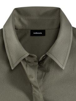 2-in-1-Blusenweste Khaki Detail 3