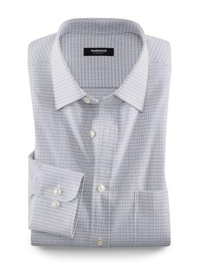 Extraglatt-Hemd Streifenkaro