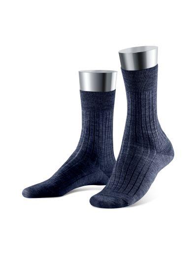 Merino-Socke 2er-Pack