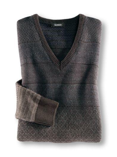 Jacquard-Pullover Degradee