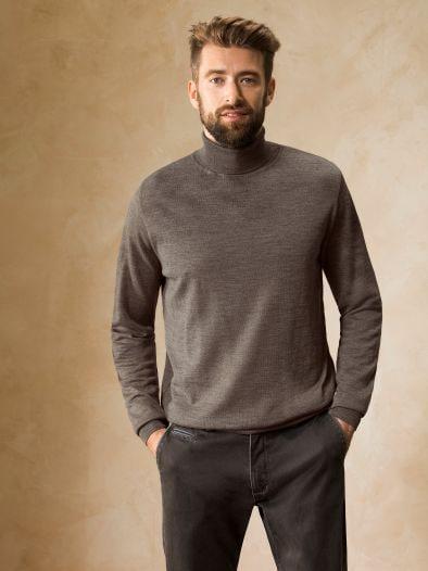 Männer Rollkragen Pullover