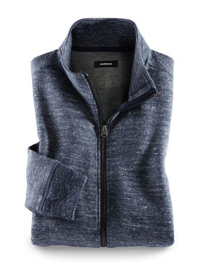Strickfleece Zip-Jacke