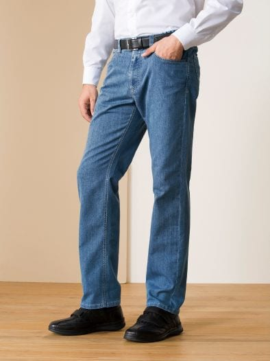 Relaxbund-Jeans