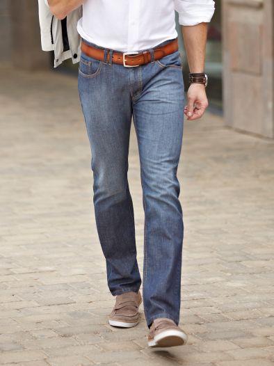 Leinen-Jeans