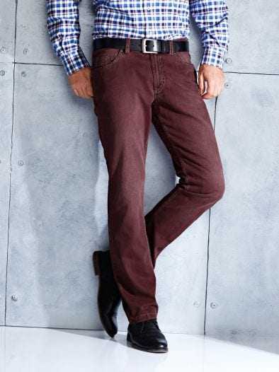 Colour Denim Comfort Fit