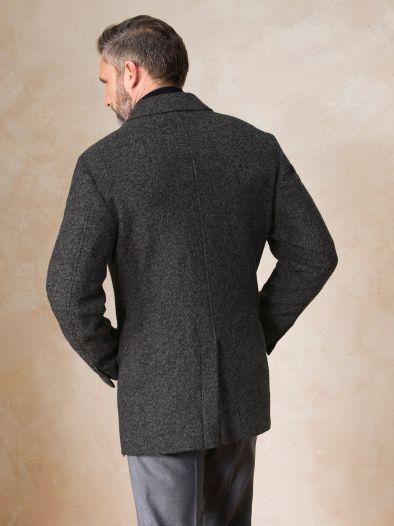 IRO Mantel aus Wollmix mit Reverskragen Grau Business Mit