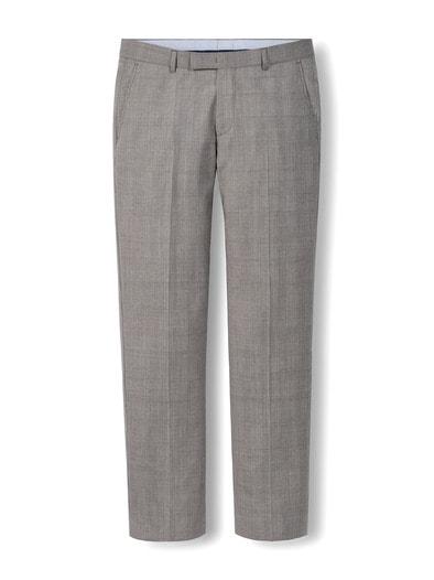 Glencheck-Anzug-Hose Super 130