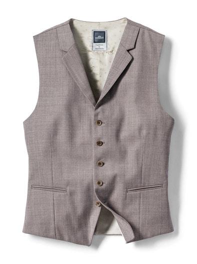 Anzug-Weste Sommerwolle