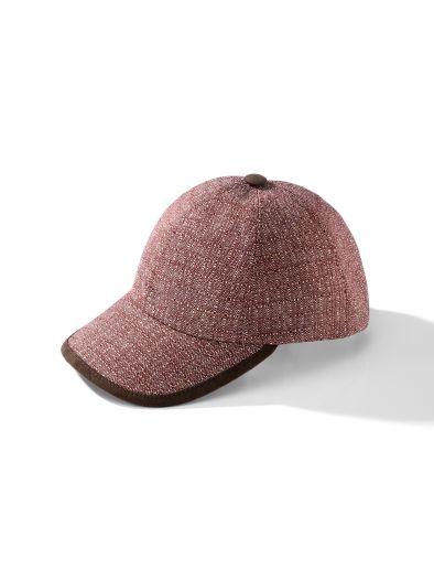 Baseballcap Struktur-Karo