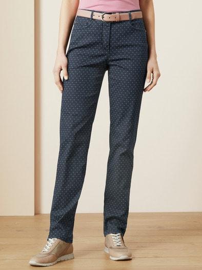 Jacquard Jeans