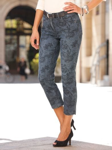 7/8-Jeans Paisley