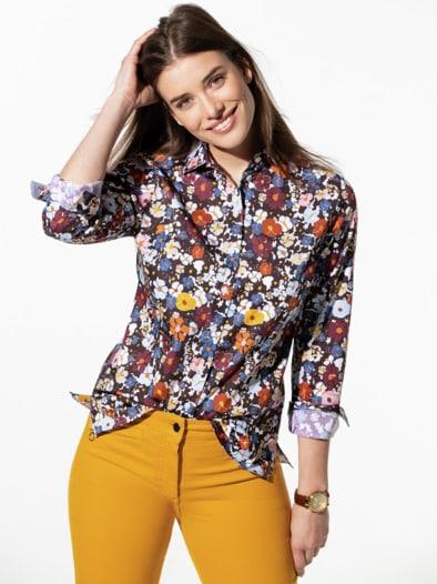 Premium-Stretch Bluse