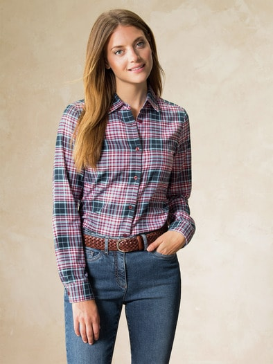 Bluse Leichtflanell