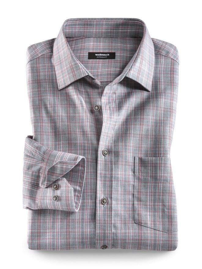 Extraglatt-Hemd Melange