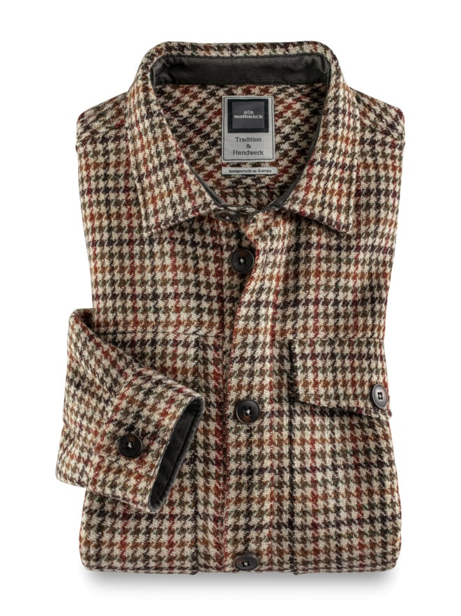 Harris Tweed-Hemdjacke