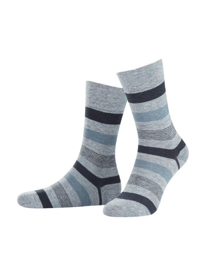 Tropical Streifen-Socke 2er-Pack