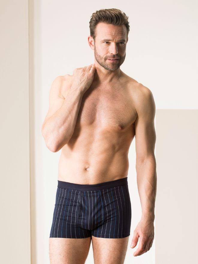 Shorts gemustert m. E. 2er-Pack