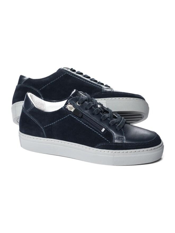 Reißverschluss-Sneaker