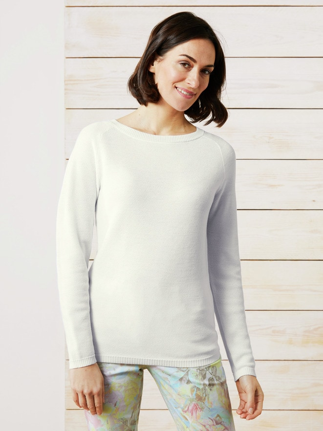 Leicht-Pullover Honeycomb