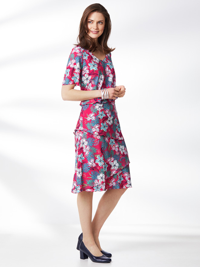 Layeringkleid Tropicana