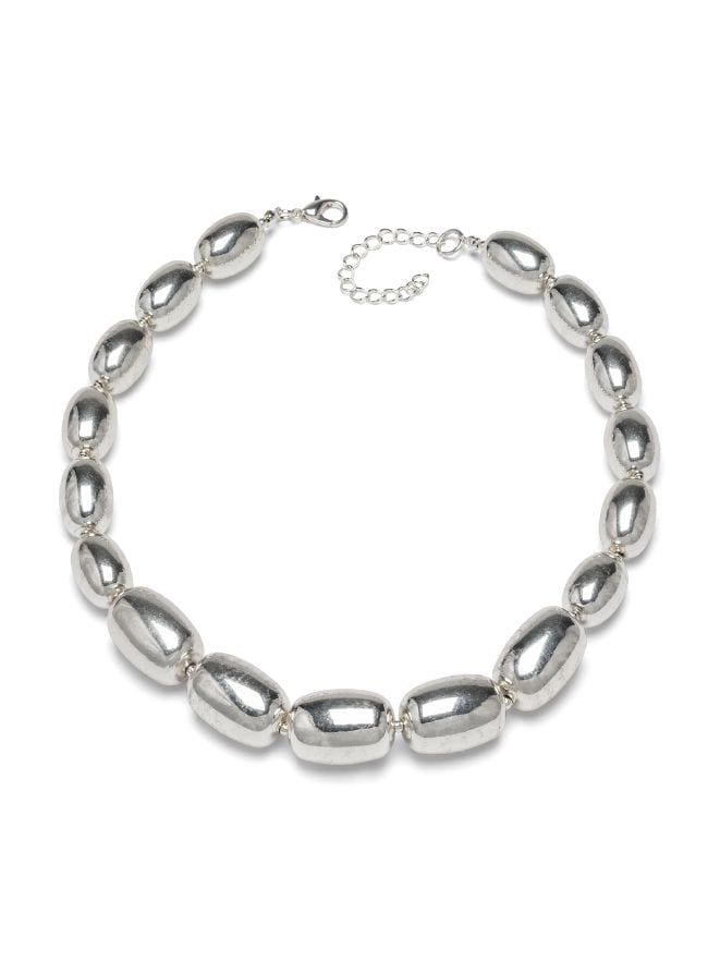 Kugelkette Silberglanz
