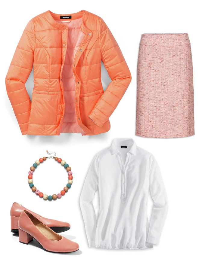 Steppjacke Outfit Formell