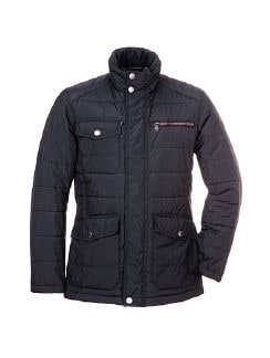Gore-Tex Jacke Windstopper Nachtblau Detail 4