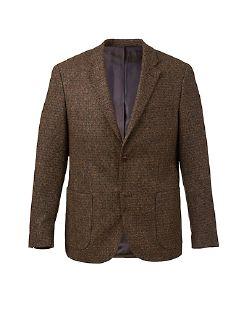 Tweed-Sakko Bottoli Tabak Detail 8