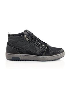 Winter-Sneaker Schwarz Detail 5