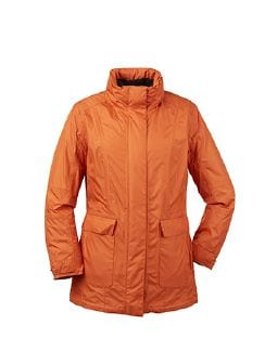 Klepper 2-in-1 Damenjacke Aquastop Aprikose Detail 9